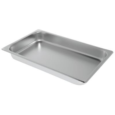 "HUBERT Chafing Dish Food Pan Full Size Stainless Steel - 21""L x 12 3/4""W x 2"
