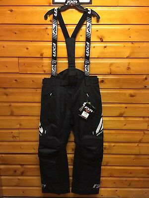 FXR Men's X System Pant Bib Snowmobile Winter Riding Snow Waterproof Insulated