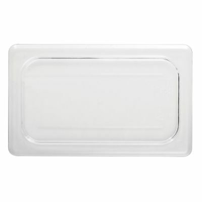 Cambro 40CWC135 Clear Camwear 1/4 Size Flat Food Pan Cover