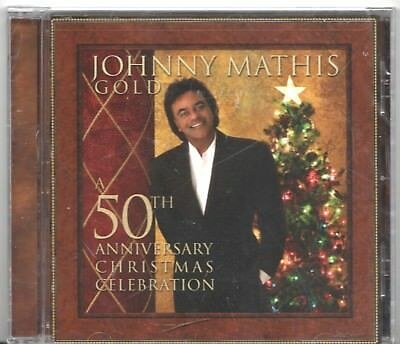 CD - A 50TH ANNIVERSARY CHRISTMAS CELEBRATION - Johnny Mathis Gold - New CD