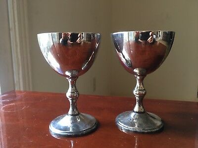 Silverplate Cups (set of 2)