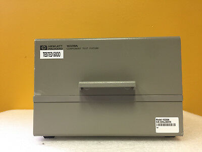 HP / Agilent 16339A Component Test Fixture + 116339-60101 SMD Module. Tested!