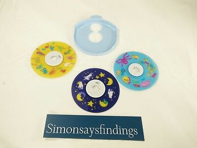 3 Homedics Replacement Discs Only For Model SS-3000 Sound Spa Lullaby~Free Ship