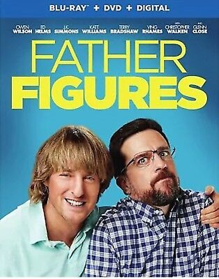 Father Figures(Blu-Ray+Dvd+Digital Hd)W/Slipcover New