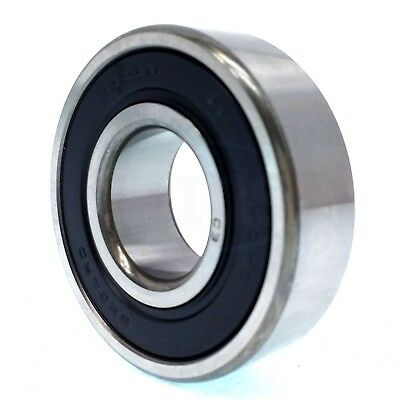 Koyo 62042RDC3 Single Row Ball Bearing, Double Rubber Seals 20mm x 47mm x 14mm