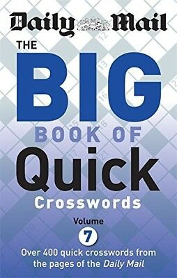 New, Daily Mail Big Book of Quick Crosswords Volume 7 (The Daily Mail Puzzle Boo