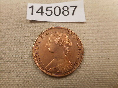 1864 New Brunswick Large Cent - Cleaned Tall 6 - Album Coin - # 145087 Key Date