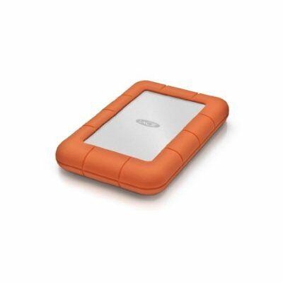 LaCie Rugged Mini 1TB USB 3.0 / USB 2.0 Portable Hard Drive (LAC301558)