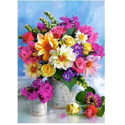 Flower Diamond Painting Embroidery DIY Paint By Number Kit Home Wall Decor