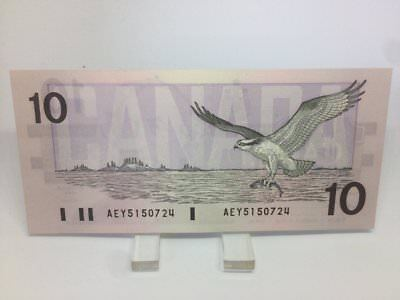 1989 Bank of Canada 10 Dollars Macdonald Banknote AEY 5150724