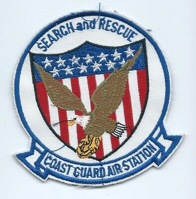 United States Coast Guard (USCG) patch Search & Rescue 4-1/8 X 4 #1562
