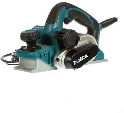 Makita Corded Planer 3-1/4 in. 7.5 Amp 2-Blade Cutter Head Corded Click Stops
