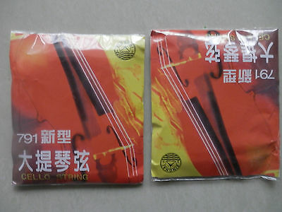 Cello String -----2 sets High quality 4/4 cello strings 791
