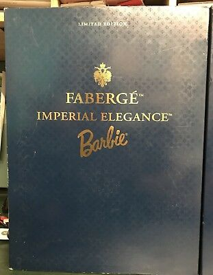 FABERGE IMPERIAL ELEGANCE BARBIE LIMITED EDITION PORCELAIN DOLL MATTEL Wow Look