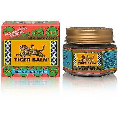 Tiger Balm Pain Relieving Ointment - Red Extra Strength 18g/0.63oz Brand New