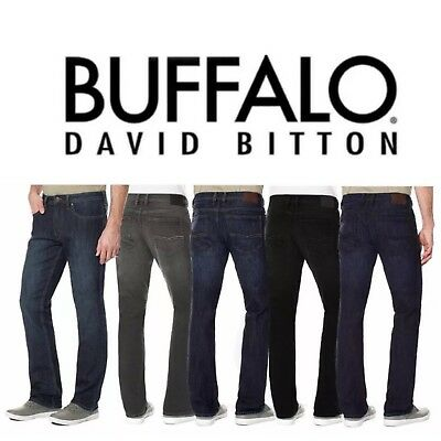Buffalo David Bitton Driven-X Basic Mens Straight Fit Stretch Classic Jeans