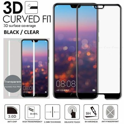 Full Cover Tempered Glass Screen Protector Huawei P20 Pro lite/ P Smart /Nova 3i