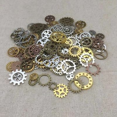 Charms Jewelry Cogs & Gears Steampunk Cyberpunk Watch Parts Making Craft Arts