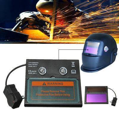 5 Types Auto Solar Darkening Welding Helmet Lens Goggles Mask Automation Filter