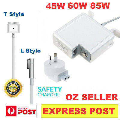 45W 60W 85W AC Power Adapter Charger 1/2 L/T For Apple Mac Macbook Pro Air 13 15
