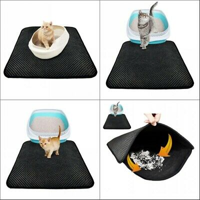 Waterproof Double-Layer Cat Litter Mat Trapper Foldable Comfort Pad Pet Rug Home