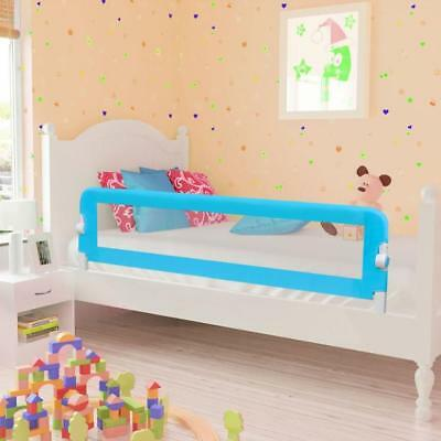 Blue Toddler Safety Bed Rail 150 x 42 cm Kids Childrens Anti Roll Guard Railing