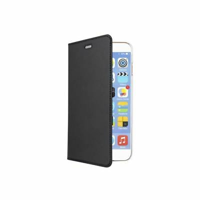 SWISS CHARGER Etui folio stand crytal case black pour Iphone 7 noir
