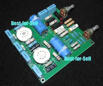 12AX7 Stereo Tube Tone Control Baxandall Type Board 2.0 Channel Low distortion