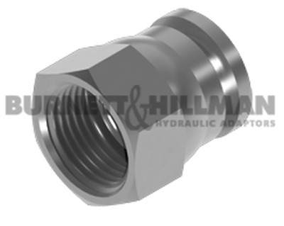 Burnett & Hillman JIC Swivel Blanking Cap Hydraulic Fitting