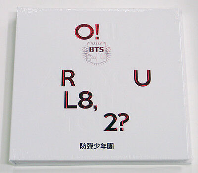BTS - O!RUL8,2? (1st Mini) CD+2 Photocards+Photobook+Folded Poster /w Free Gift