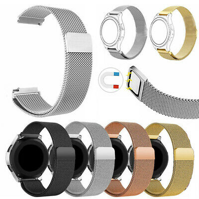Milanese Loop Magnetic Stainless Steel Watch Strap Band 20mm For Ticwatch E/2
