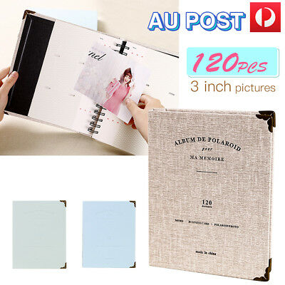 120 Pockets Photo Album Storage FujiFilm Instax Mini Polaroid Fuji Film Camera