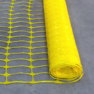15M Green Barrier Temporary Fencing Plastic Mesh Safety Netting Event Fence