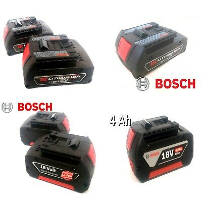 Bosch 18v battery 1.5 Ah - 4 Ah