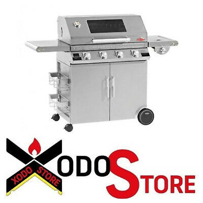 Barbecue gaz Gpl Méthane LE BRASERO beefeater DISCOVERY 1100S INOX 4 FEUX bbq