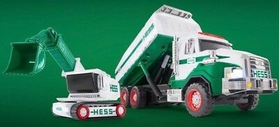 New 2017 Hess CollectibleDump Truck and Loader NEW IN THE BOX