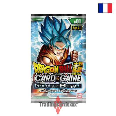 ♦Dragon Ball Super Card Game♦ Booster Serie 1 : Galactic Battle - VF/B01
