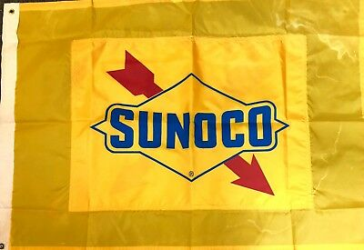 Vintage Sunoco Flag from 1980's