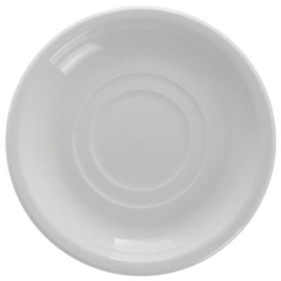 "World Tableware 840-205-006 Double Well 6"" Saucer - 36 / CS"