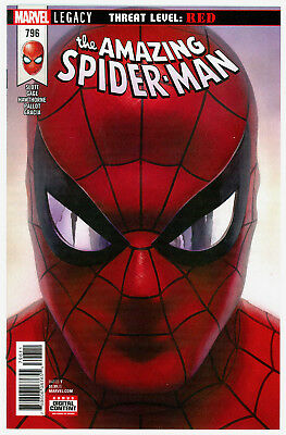Amazing Spider-Man #796 Nm *alex Ross Variant* Red Goblin Series *sold Out* 2018