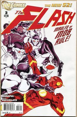 Flash #3 - VF - Manapul Cover - New 52
