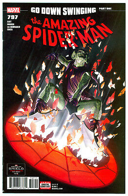 Amazing Spider-Man #797 Nm- *alex Ross Cover* Red Goblin Series *sold Out* 2018