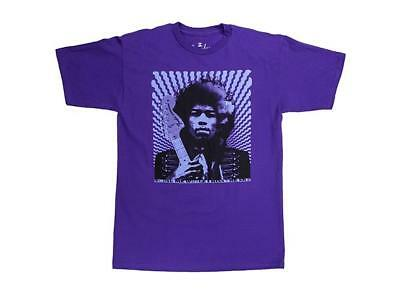 Fender Hendrix Kiss The Sky Purpur - T-Shirt, S