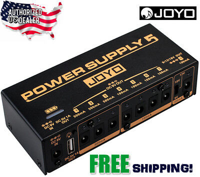 JOYO JP-05 Wireless Rechargeable Guitar Effects Pedal Power Supply 9,12,18v