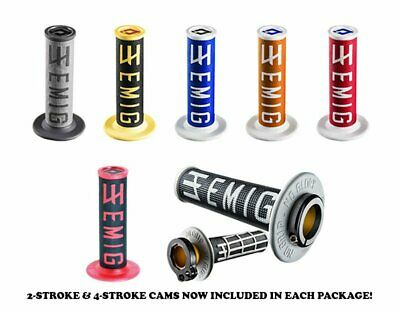 ODI EMIG Lock-on V2 MX Grips -ALL COLORS- Made in USA ( Fits 2 & 4-STROKE)