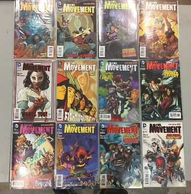 Complete Set Of The Movement Comic Books 1-12 DC comics 2 3 4 5 6 7 8 9 10 11