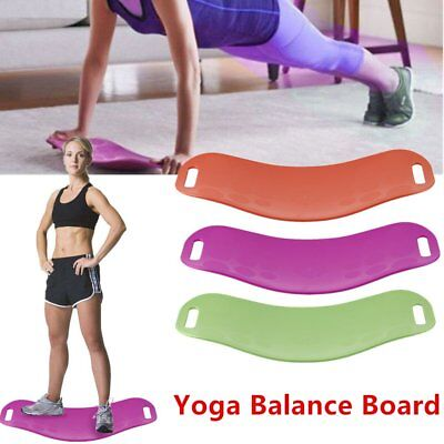 Twist WORKOUT BOARD Fitness Yoga Sport Pilates fit Balance Board #S