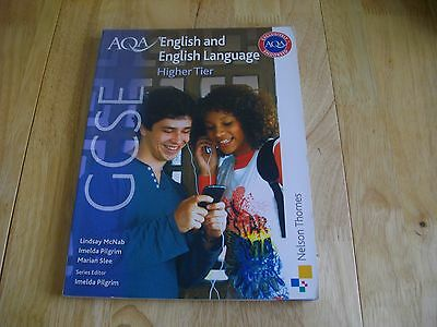 Aqa Gcse English & English Language Higher Tier Student Book Ks4 Activities Good