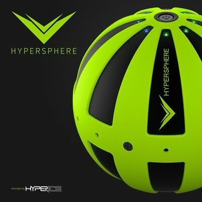 NEW Black Hyperice Hypersphere Vibrating Rechargeable Massage Ball Crossfit WOD