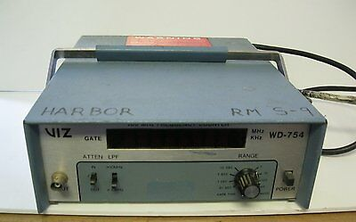 Viz 100 MHz Frequency Counter WD-754 - In Nice Condition